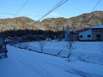 たかお周辺の雪景色