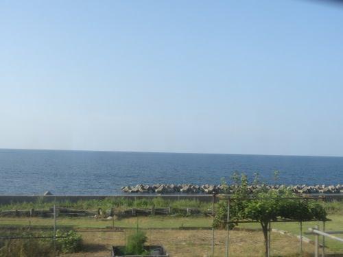 日本海の景色