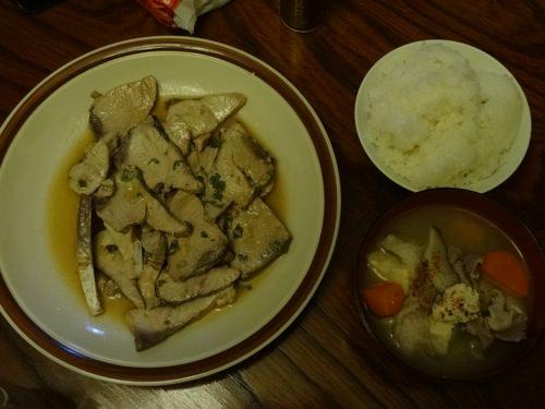 西村さんが作ってくれた食事
