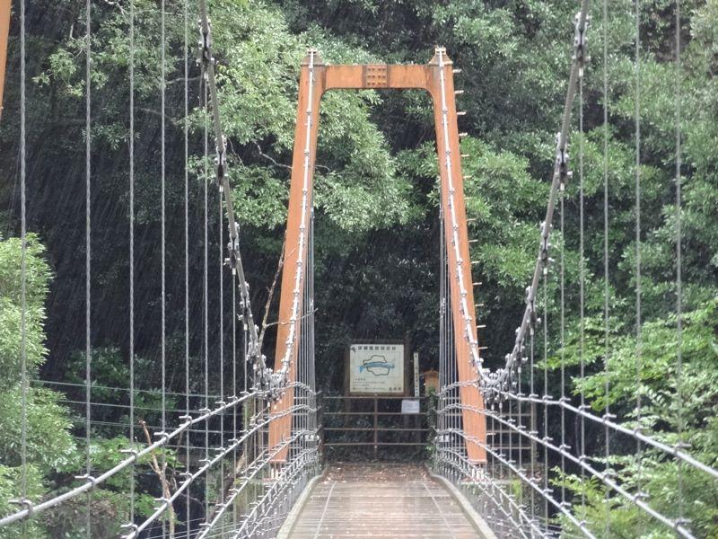 橋の真ん中から