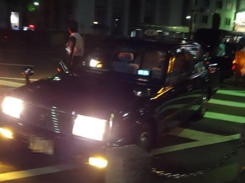 姫路駅に着いたタクシー