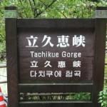 【出雲旅行記】雨で誰もいない立久恵峡(たちくえきょう)はまさに秘境!