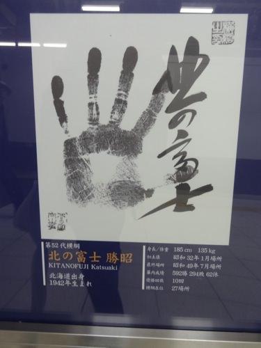 北の富士勝昭の手型