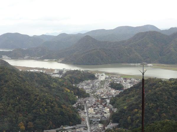 山上からの景色