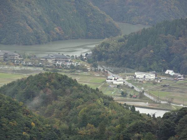 山上から見る町並み
