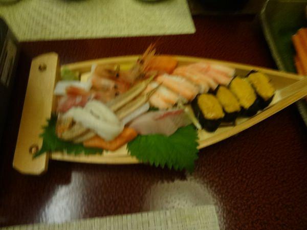 新鮮な魚のお寿司