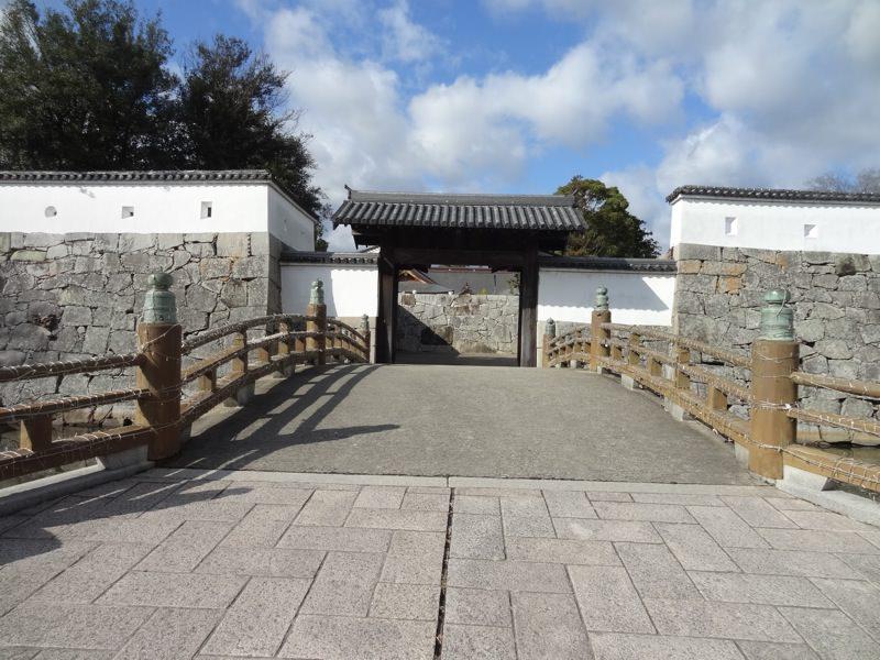 赤穂城の橋