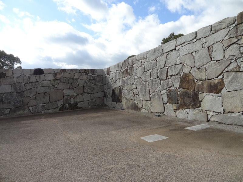赤穂城の石垣
