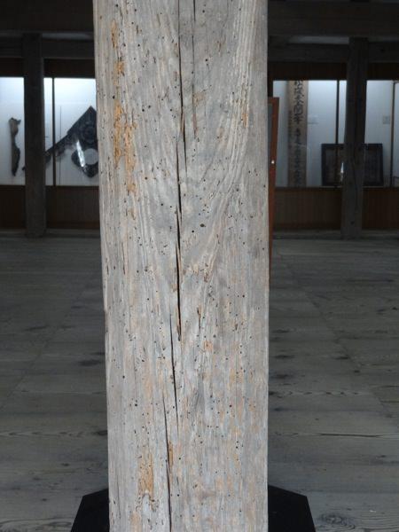 備中松山城の柱