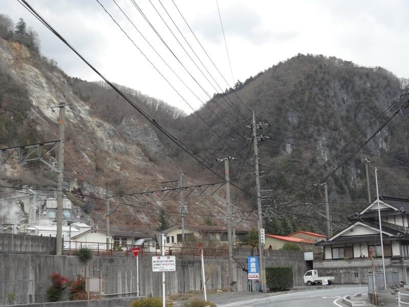 井倉駅周辺の町並み