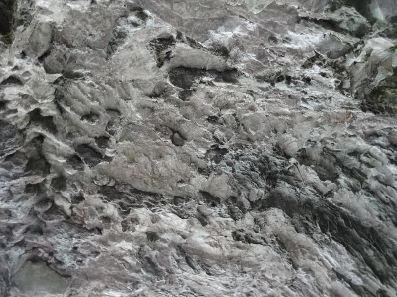 井倉洞の岩