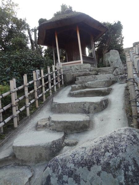 後楽園の石段