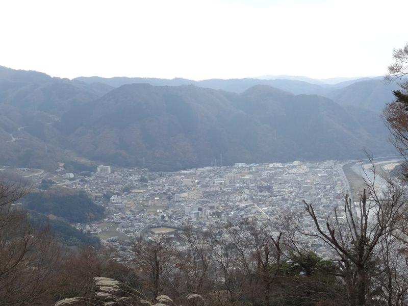 備中松山城からの町並み