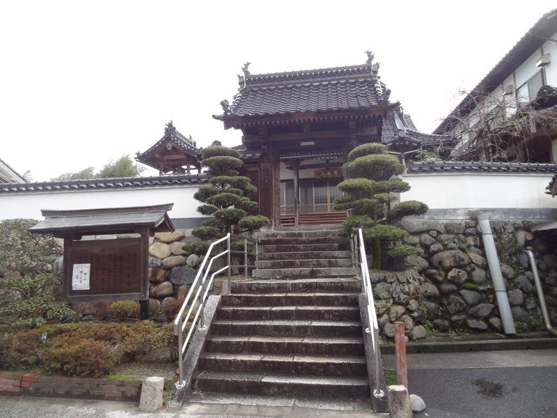勝山・町並み保存地区の大雲寺