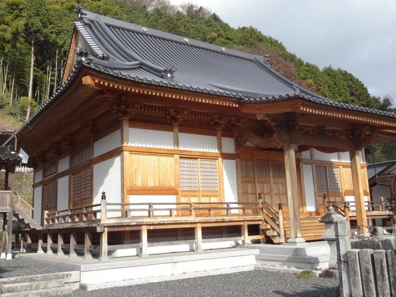 勝山にあるお寺