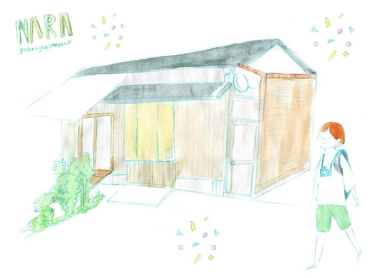 遊山ゲストハウスの外観