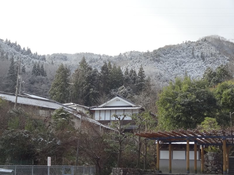 新見駅周辺の景色