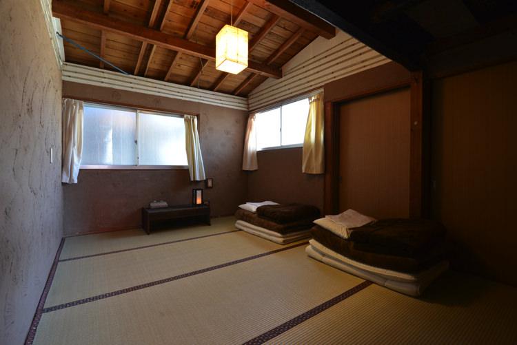 岡山ゲストハウスいぐさ 梅の部屋