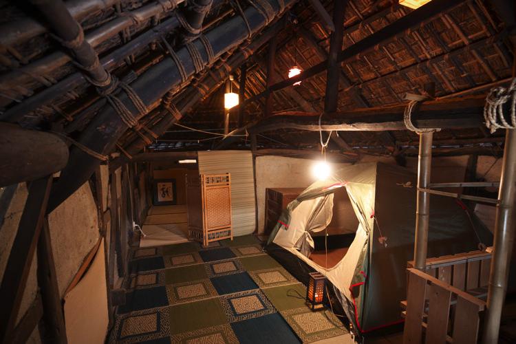 岡山ゲストハウスいぐさ 秘密基地