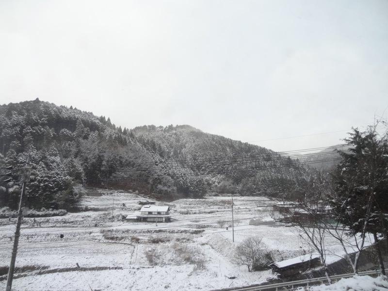 新見から中国勝山の間の景色