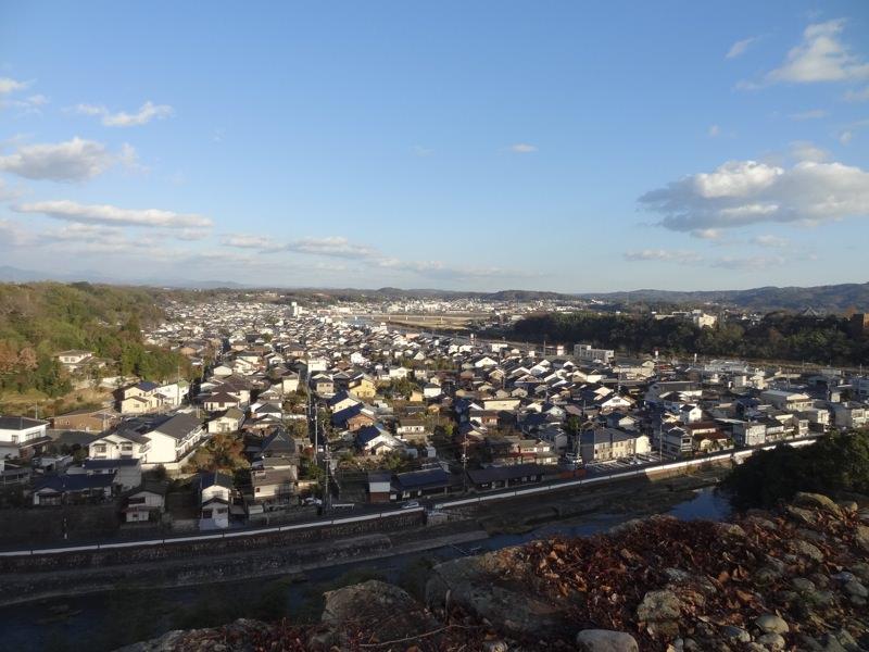 津山城から見る景色