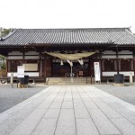 阿智(あち)神社は美観地区巡りの癒やし場所にいいところです