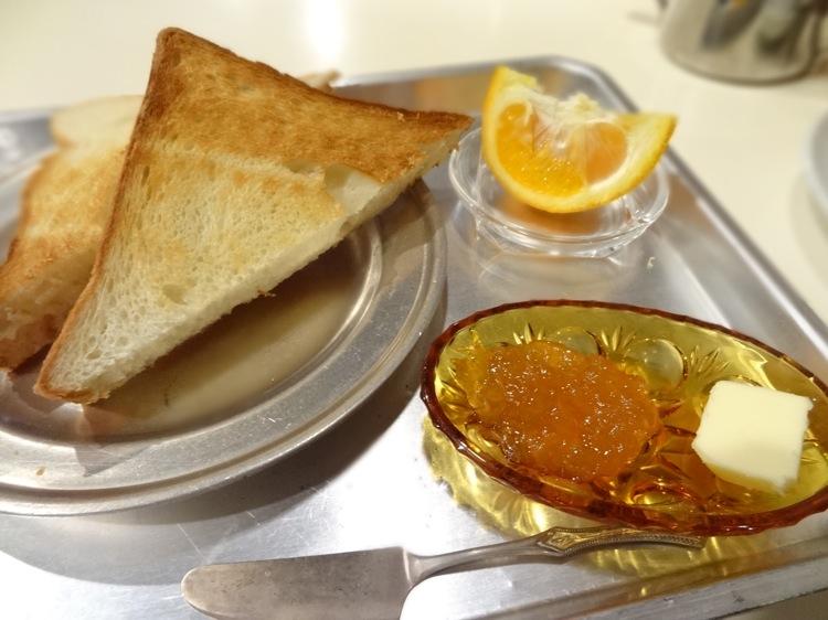 あなごのねどこ 洋食の朝食