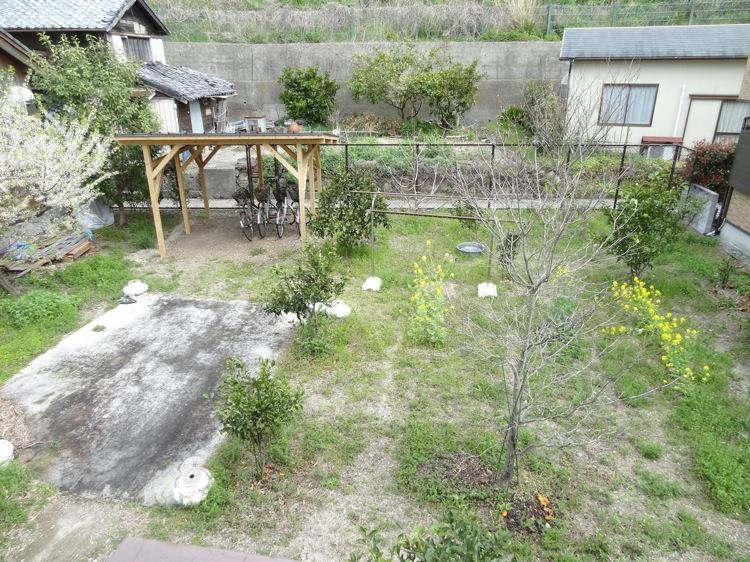 ほどほどの裏庭