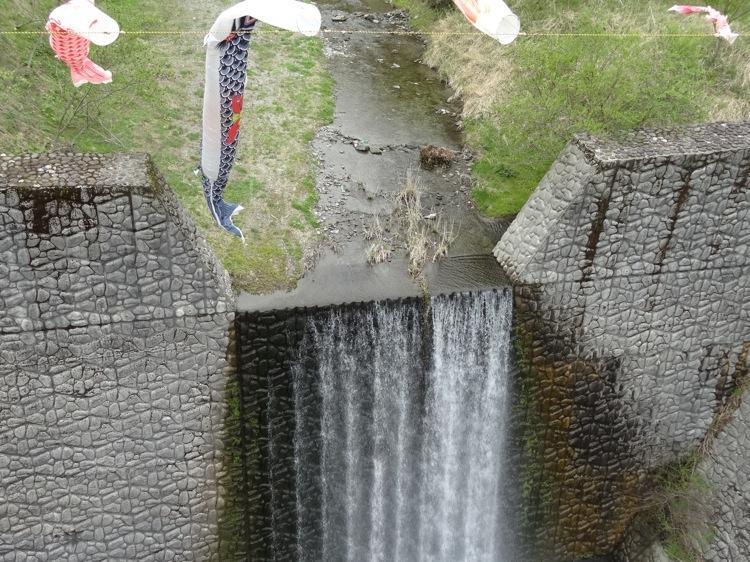 祖谷ふれあい公園の橋から見下ろす景色