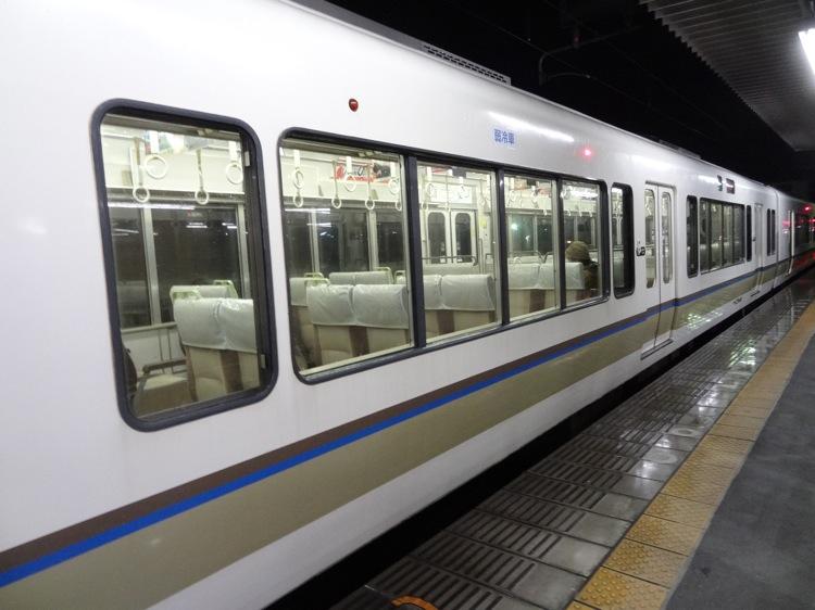 加茂駅にて JR西日本の車両