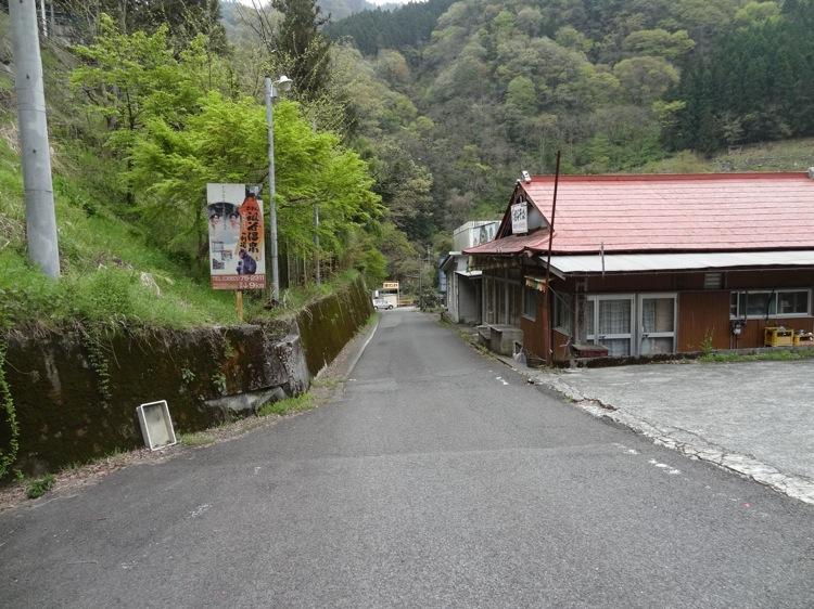 祖谷のかずら橋への道