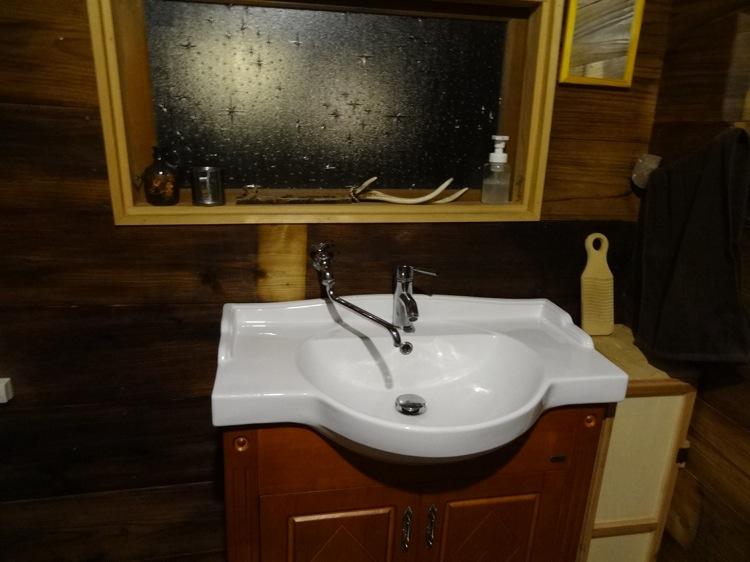 空音遊の洗面台