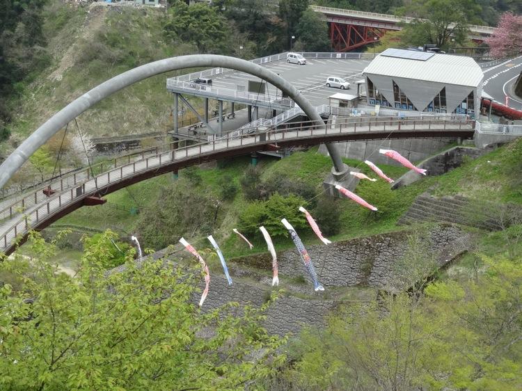 モノライダーから見る大橋