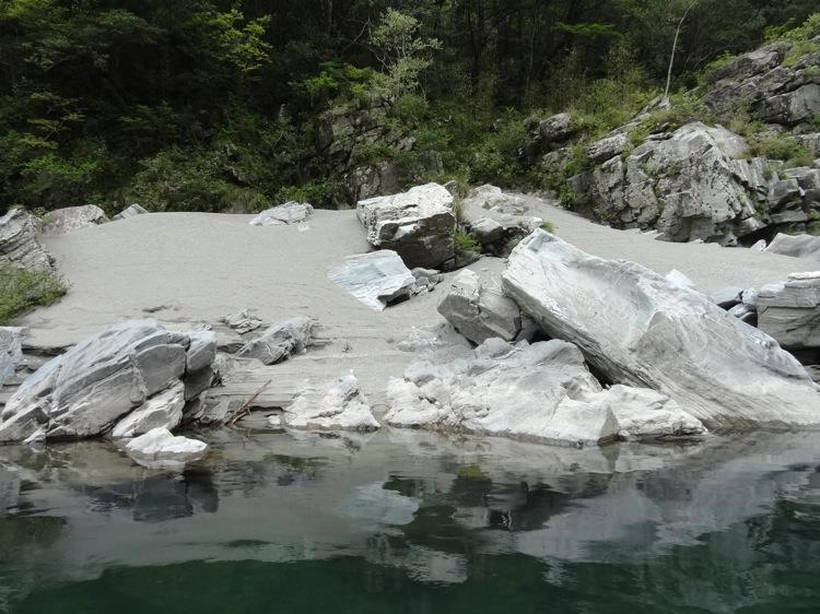 大歩危峡 美しい景色