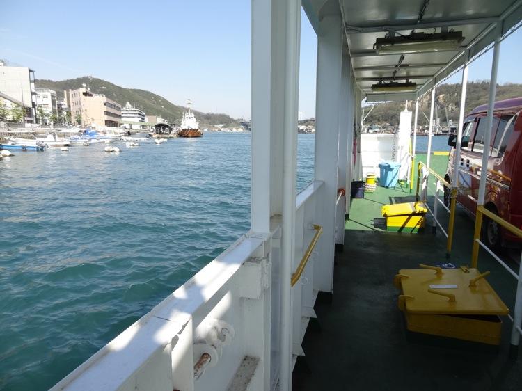 尾道渡船 フェリーからの眺め
