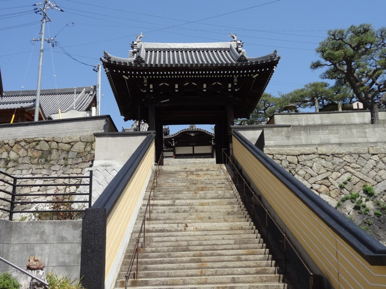 尾道の福善寺へ続く階段