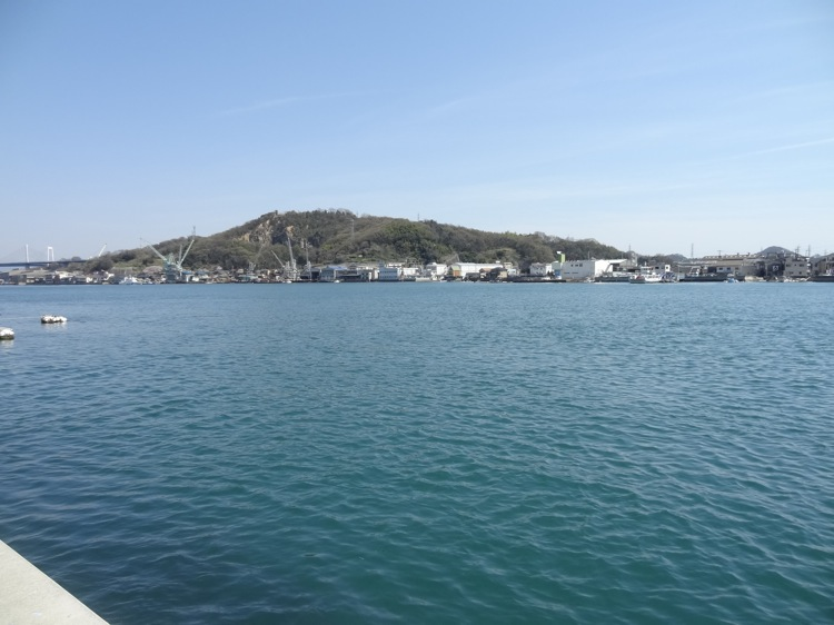 尾道から見る向島