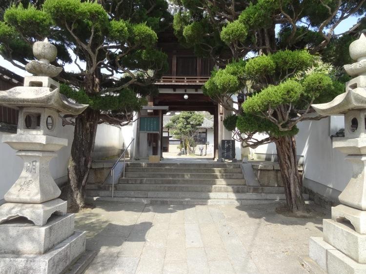 尾道 天寧寺の入り口