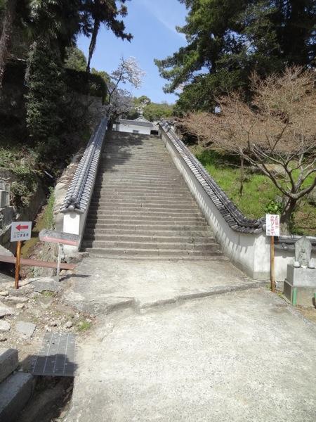 西国寺へ続く階段