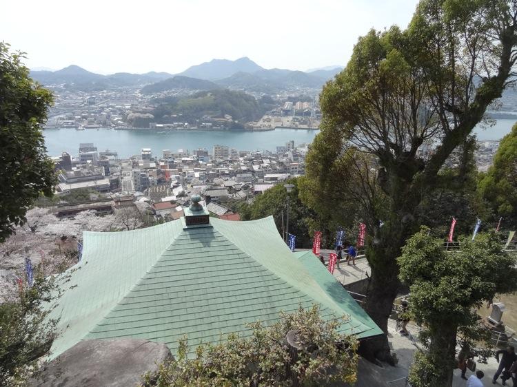 千光寺から見る尾道の町並み