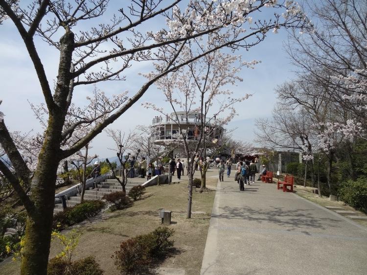 千光寺上の展望台