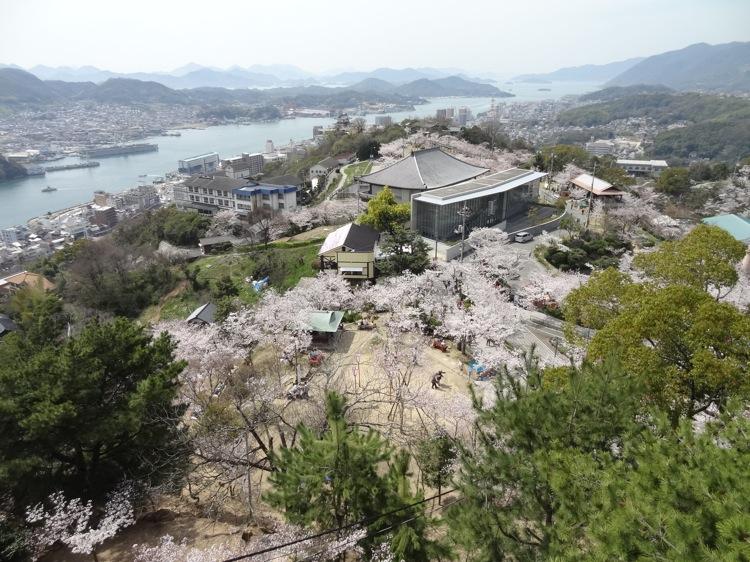 千光寺山展望台からの景色3