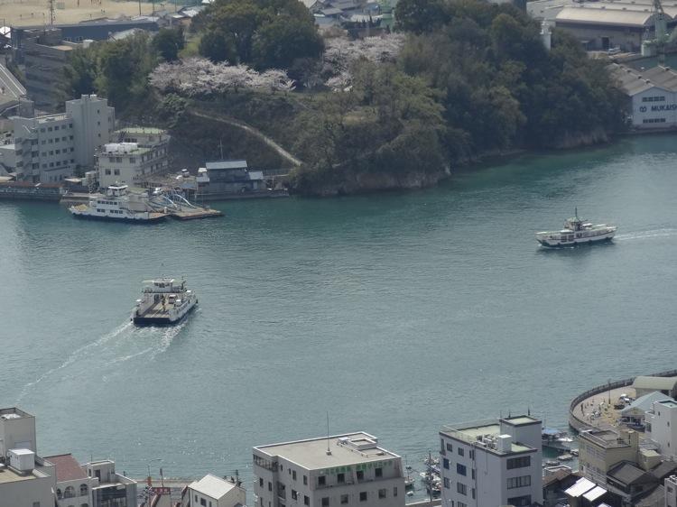 千光寺山展望台からの景色4