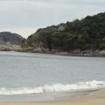 篠島に来たら前浜(ないば)は絶対見ておこう!美しい砂浜と海を堪能できます