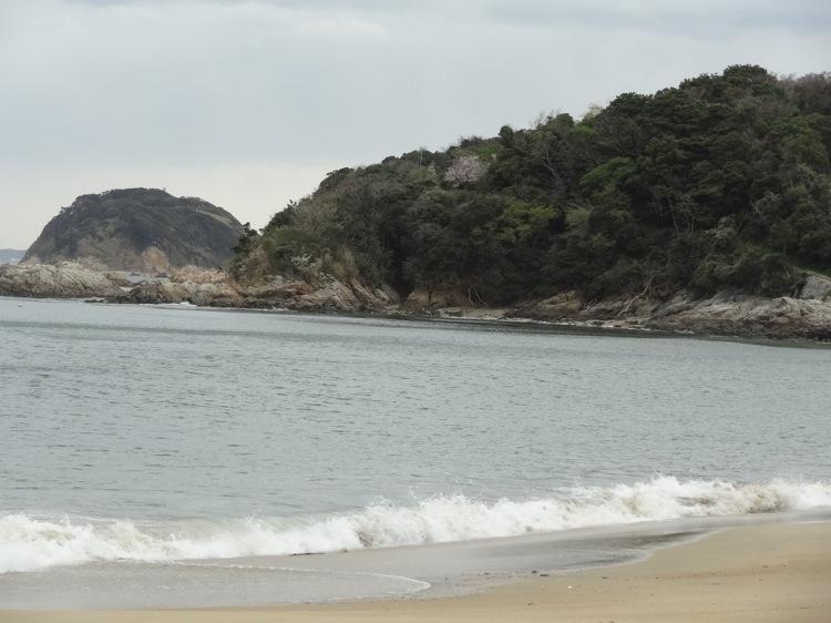 篠島の前浜