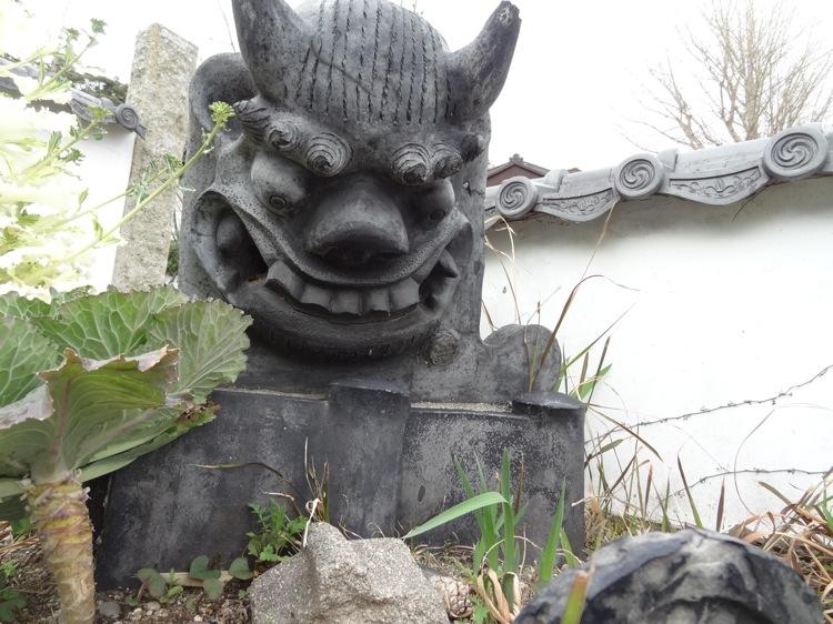 松寿寺 いかつい顔・・・