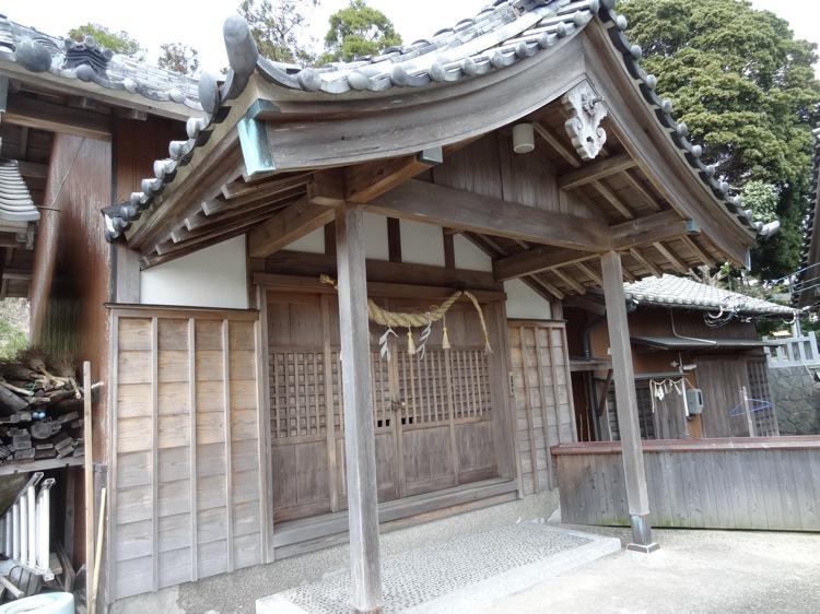 土御前神社のお堂