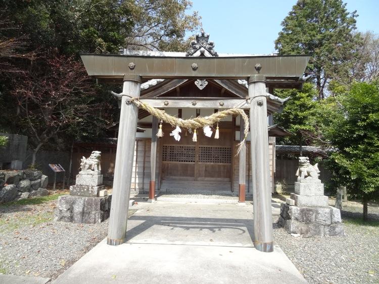 土御前神社の本殿