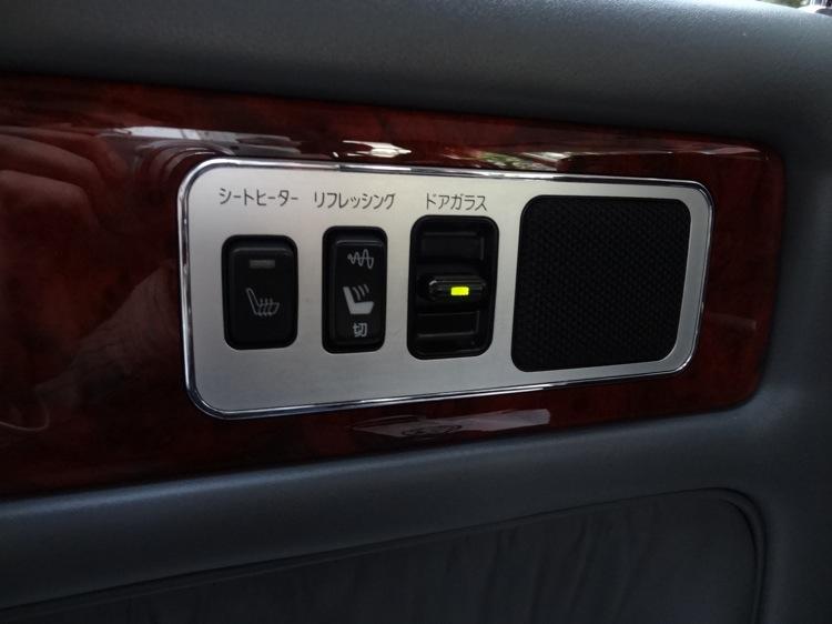 Uberのタクシーには見慣れないボタンがありました