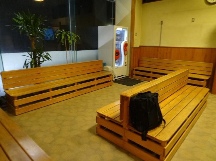 うめ乃湯 1階の休憩場所